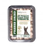 Healthy Breeds 840235181132 8 oz American Hairless Terrier All Natural Freeze Dried Treats Chicken Breast