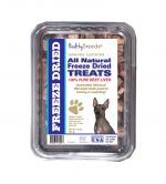 Healthy Breeds 840235181187 10 oz American Hairless Terrier All Natural Freeze Dried Treats Beef Liver