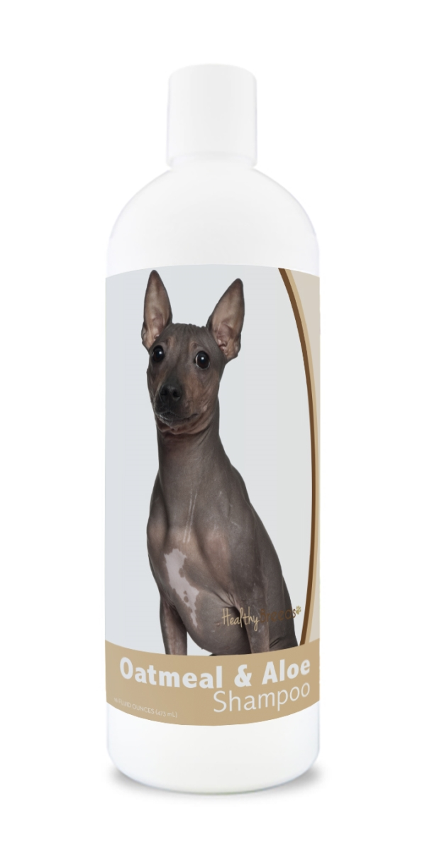 Healthy Breeds 840235181200 16 oz American Hairless Terrier Oatmeal Shampoo with Aloe