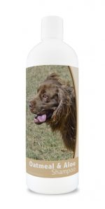 Healthy Breeds 840235181385 16 oz Sussex Spaniel Oatmeal Shampoo with Aloe