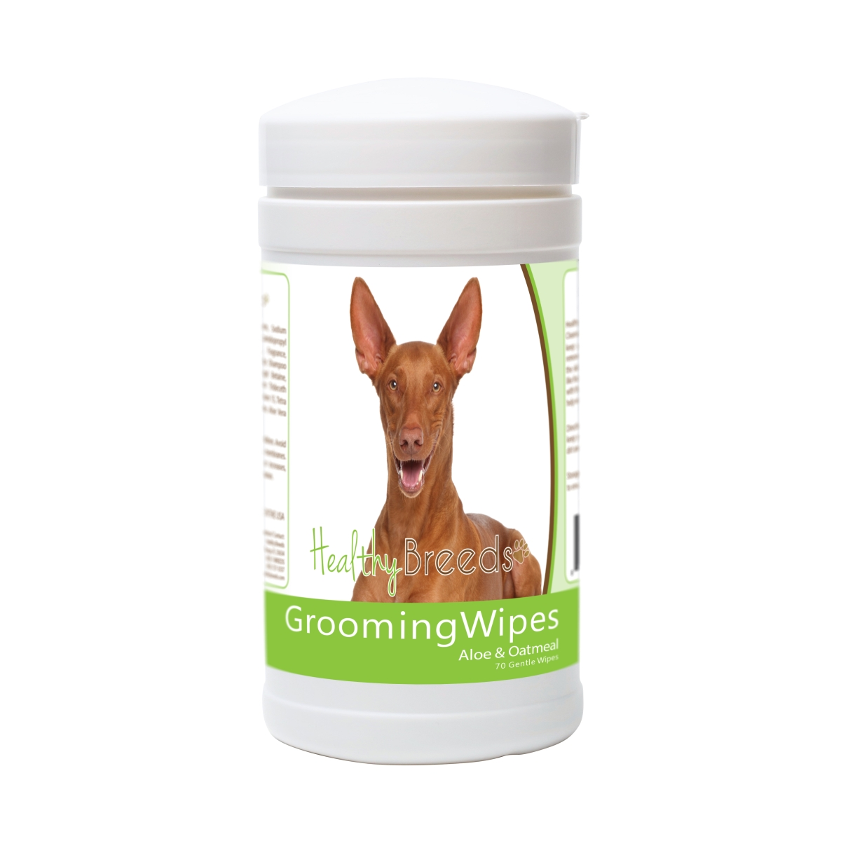 Healthy Breeds 840235181491 Pharaoh Hound Grooming Wipes - 70 Count