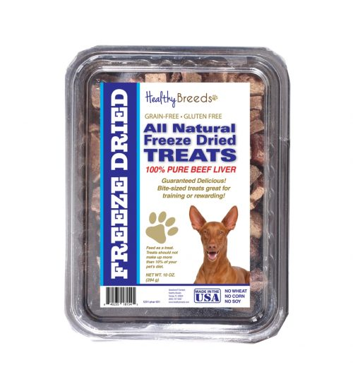 Healthy Breeds 840235181545 10 oz Pharaoh Hound All Natural Freeze Dried Treats Beef Liver