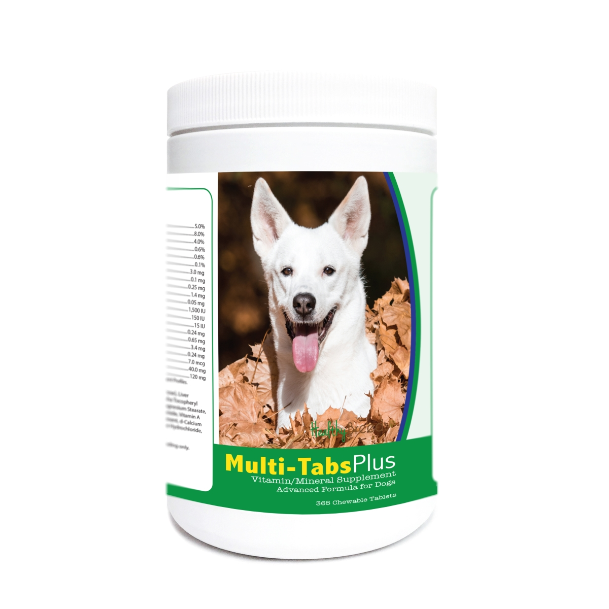 Healthy Breeds 840235181590 Canaan Dog Multi-Tabs Plus Chewable Tablets - 365 Count