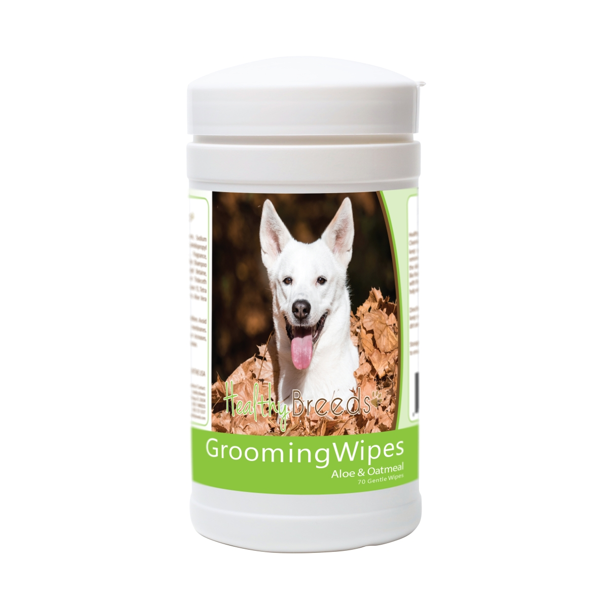 Healthy Breeds 840235181651 Canaan Dog Grooming Wipes - 70 Count