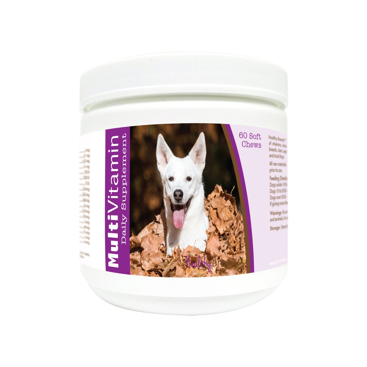 Healthy Breeds 840235181668 Canaan Dog Multi-Vitamin Soft Chews - 60 Count