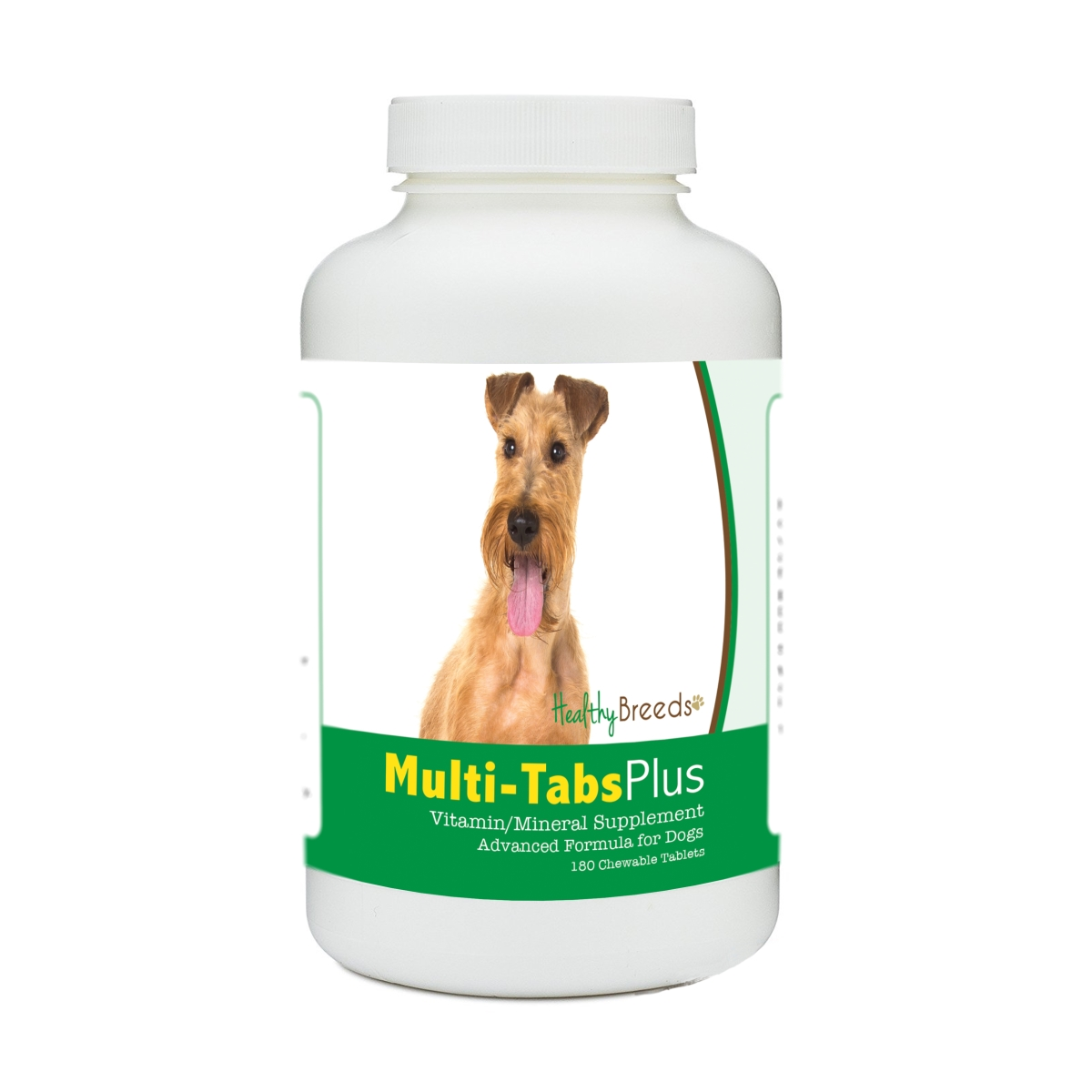 Healthy Breeds 840235181699 Irish Terrier Multi-Tabs Plus Chewable Tablets - 180 Count
