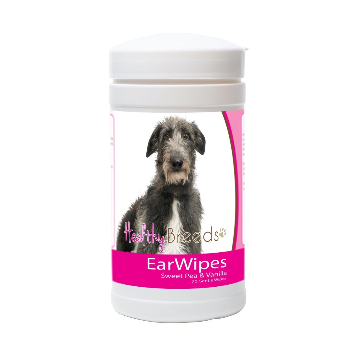 Healthy Breeds 840235181934 Scottish Deerhound Ear Wipes - 70 Count