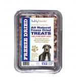 Healthy Breeds 840235182030 10 oz Scottish Deerhound All Natural Freeze Dried Treats Beef Liver