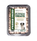 Healthy Breeds 840235182115 8 oz Miniature American Shepherd All Natural Freeze Dried Treats Chicken Breast