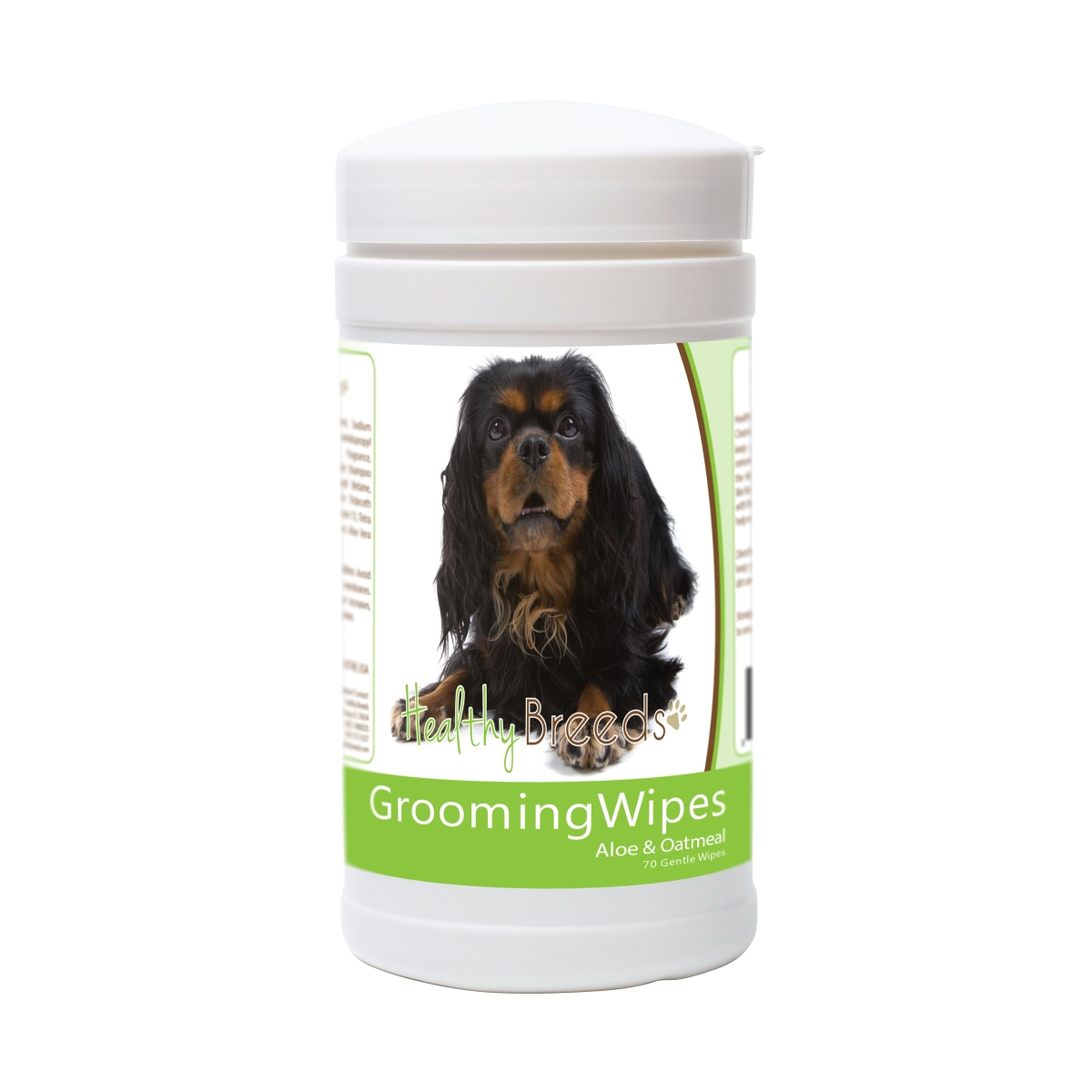 Healthy Breeds 840235182252 English Toy Spaniel Grooming Wipes - 70 Count