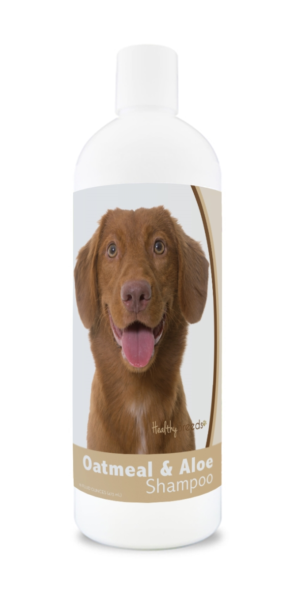 Healthy Breeds 840235182290 16 oz Nova Scotia Duck Tolling Retriever Oatmeal Shampoo with Aloe
