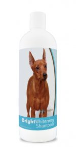 Healthy Breeds 840235182498 12 oz Miniature Pinscher Bright Whitening Shampoo
