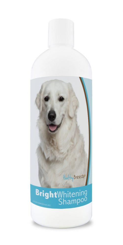 Healthy Breeds 840235182511 12 oz Kuvasz Bright Whitening Shampoo