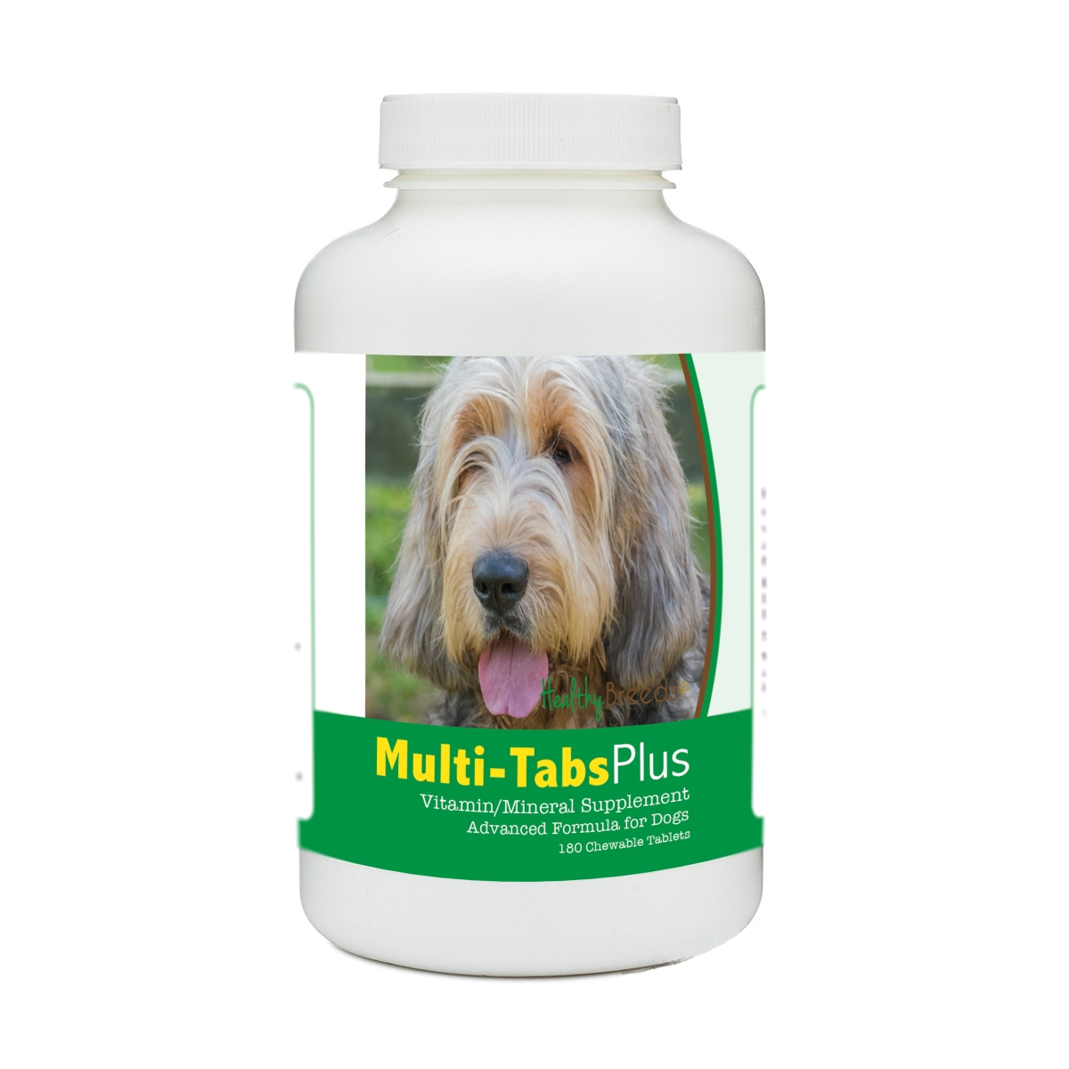 Healthy Breeds 840235182610 Otterhound Multi-Tabs Plus Chewable Tablets - 180 Count