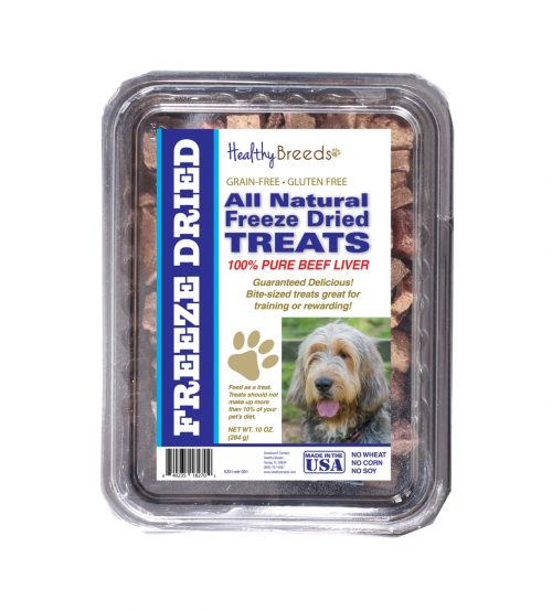 Healthy Breeds 840235182702 10 oz Otterhound All Natural Freeze Dried Treats Beef Liver