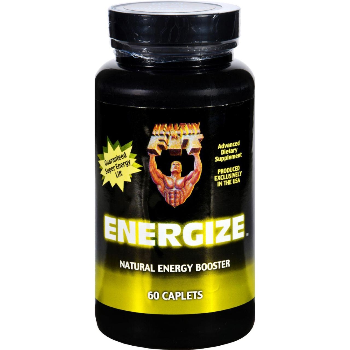 Healthy n Fit HG1218015 Energize Energy Booster - 60 Capsules