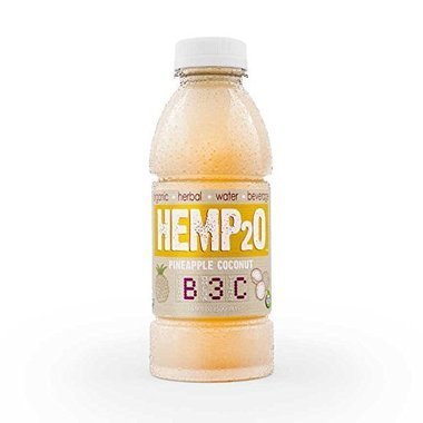 Hemp2O KHFM00306903 Organic Pineapple Coconut Water - 16.9 oz