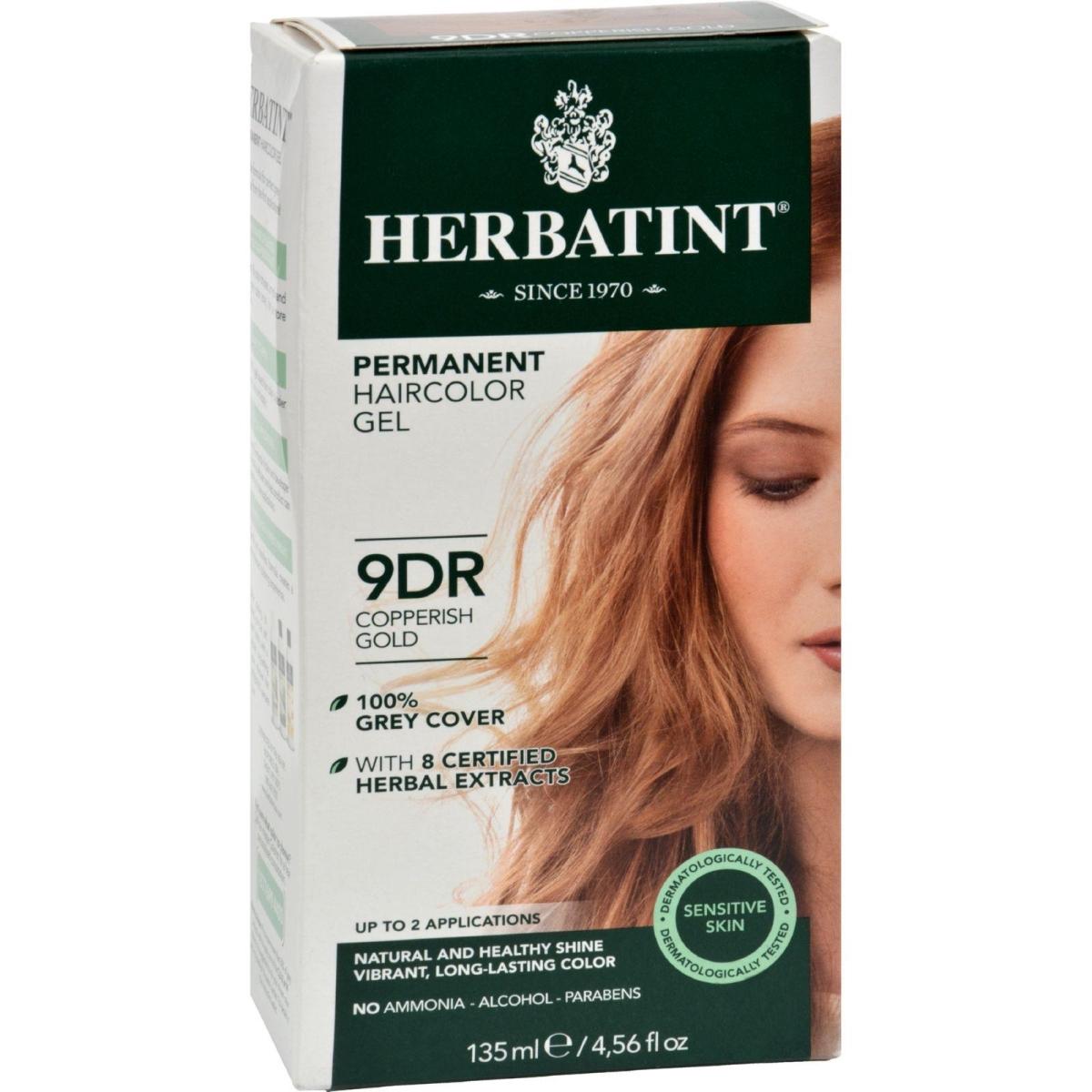 Herbatint HG0227033 Haircolor Kit Copperish Gold 9D