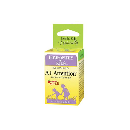 Herbs for Kids HG0783662 A Plus Attention - 125 Chewables