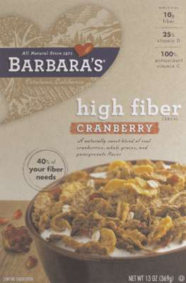 High Fiber Cranberry (Pack of 6)
