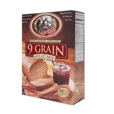 Hodgson Mill Nine Grain Bread Mix 16 Ounce.