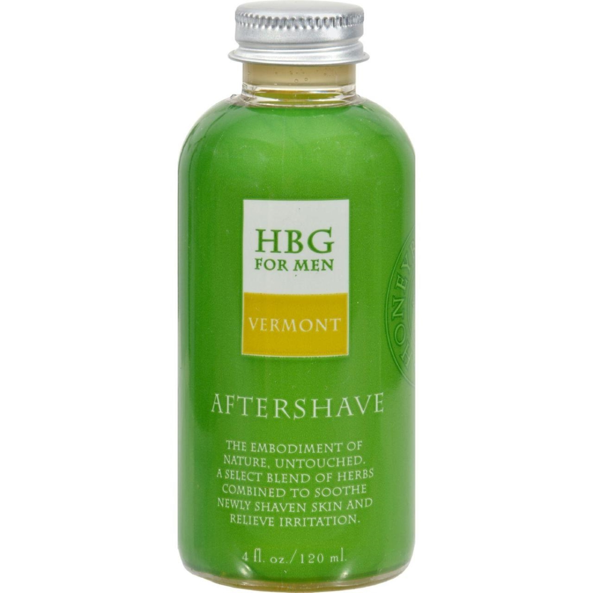 Honeybee Gardens HG0418376 4 fl oz Aftershave - Herbal Vermont