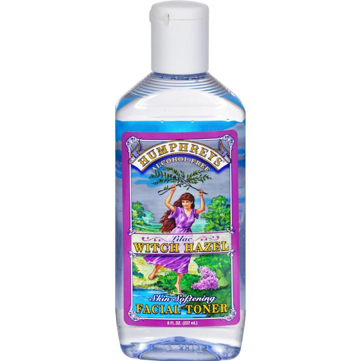 Humphreys Homeopathic Remedies HG0938498 8 fl oz Witch Hazel Facial Toner Lilac