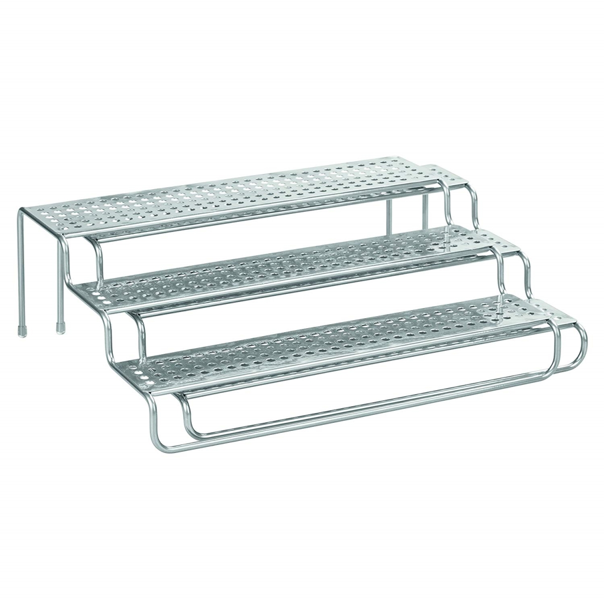 InterDesign 48876 Classico Expandable Spice Rack - Silver