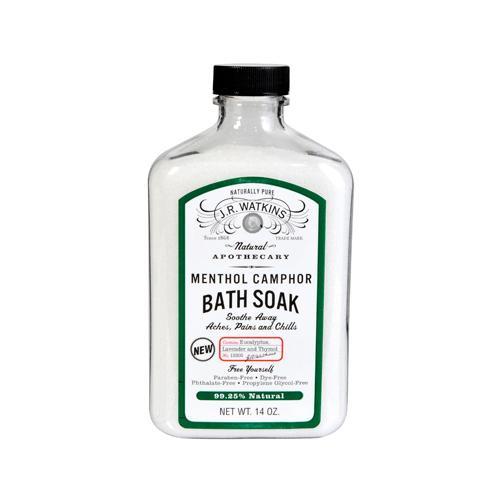 J.R. Watkins HG0244269 14 oz Menthol Camphor Bath Soak
