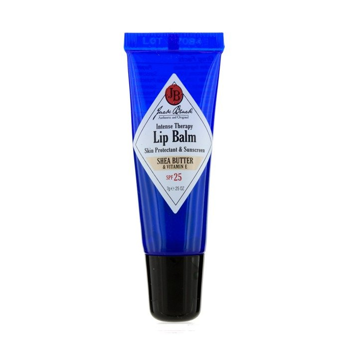 Jack Black 156104 Intense Therapy Lip Balm SPF 25 with Shea Butter & Vitamin E