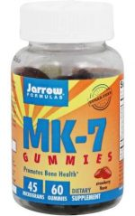 Jarrow Formulas 232305 Menaquinone-7 Strawberry Gummies