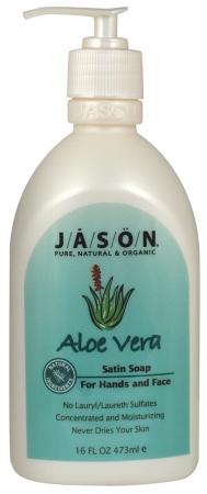 Jason Natural Products 57897 Satin Aloe Vera Liquid Soap