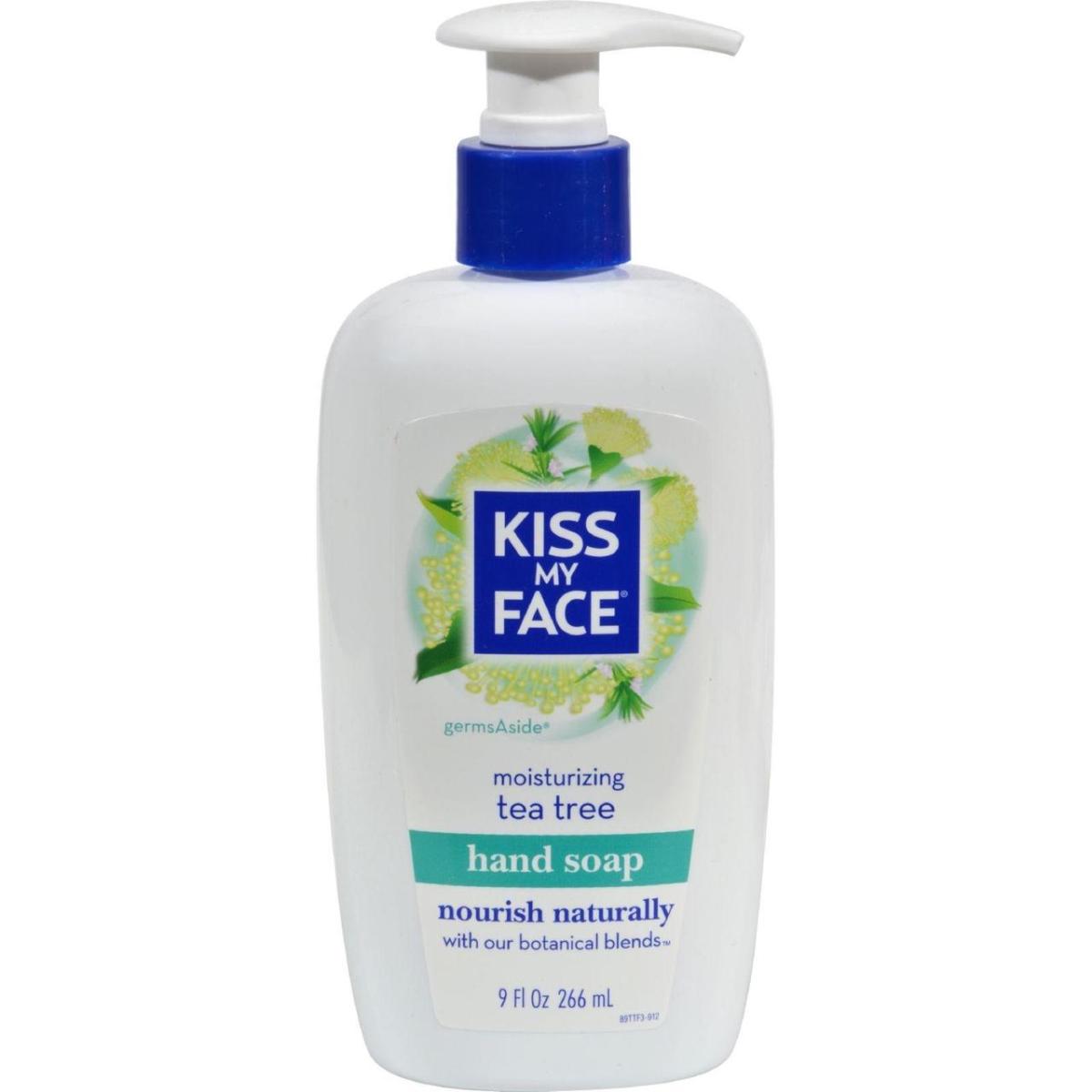Kiss My Face HG0129312 9 fl oz Tea Tree Moisture Soap