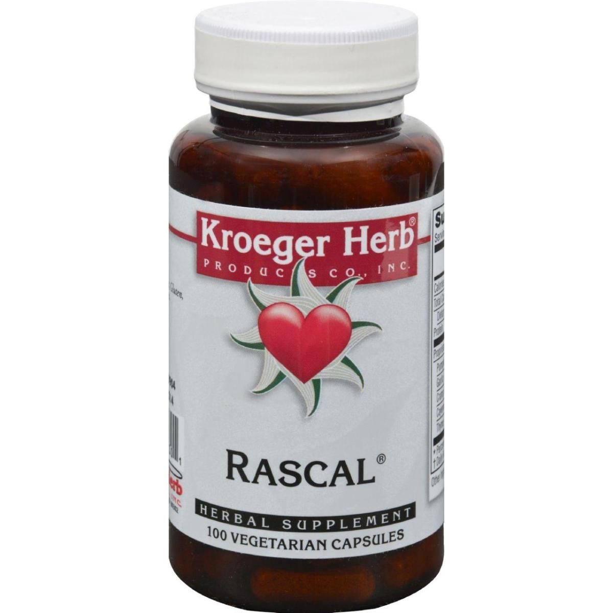 Kroeger Herb HG0420331 Rascal - 100 Capsules