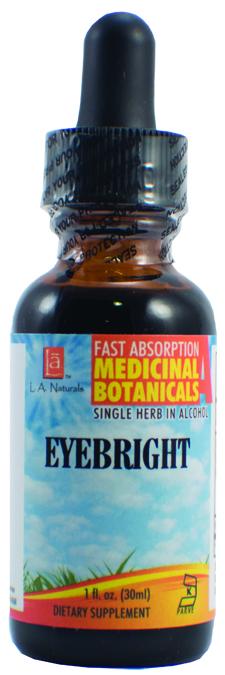 LA Naturals 1134051 1 oz Eyebright WildCrafted Organic Medical Liquid