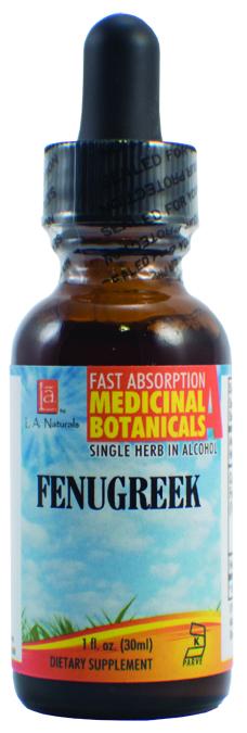 LA Naturals 1137431 1 oz Fenugreek Dietary Supplement