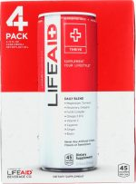 Lifeaid Beverage KHFM00295602 Lifeaid Pack of 4 - 12-48 fl oz