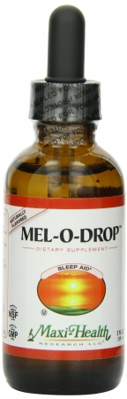 Liquid Melatonin Drops 2 FZ By Maxi Health Kosher Vitamins