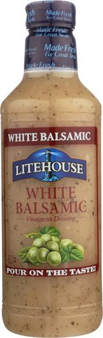 Litehouse KHFM00303456 White Balsamic Dressing Pt - 32 oz