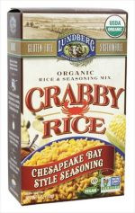 Lundberg Family Farms 6 Ounce Organic Crabby Rice Chesapeake Bay Style Seasoning