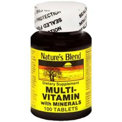 Merchandise 1897179 Natures Blend Vitamin D3 1000 IU 100 Count