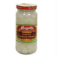 Mezzetta B76743 Mezzetta Imported Cocktail Onions -6x16oz