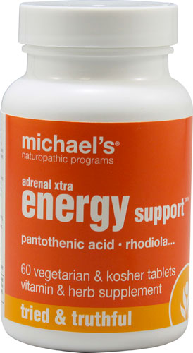 Michaels Naturopathic 364013 Adrenal Xtra Energy Support 60 Tablets