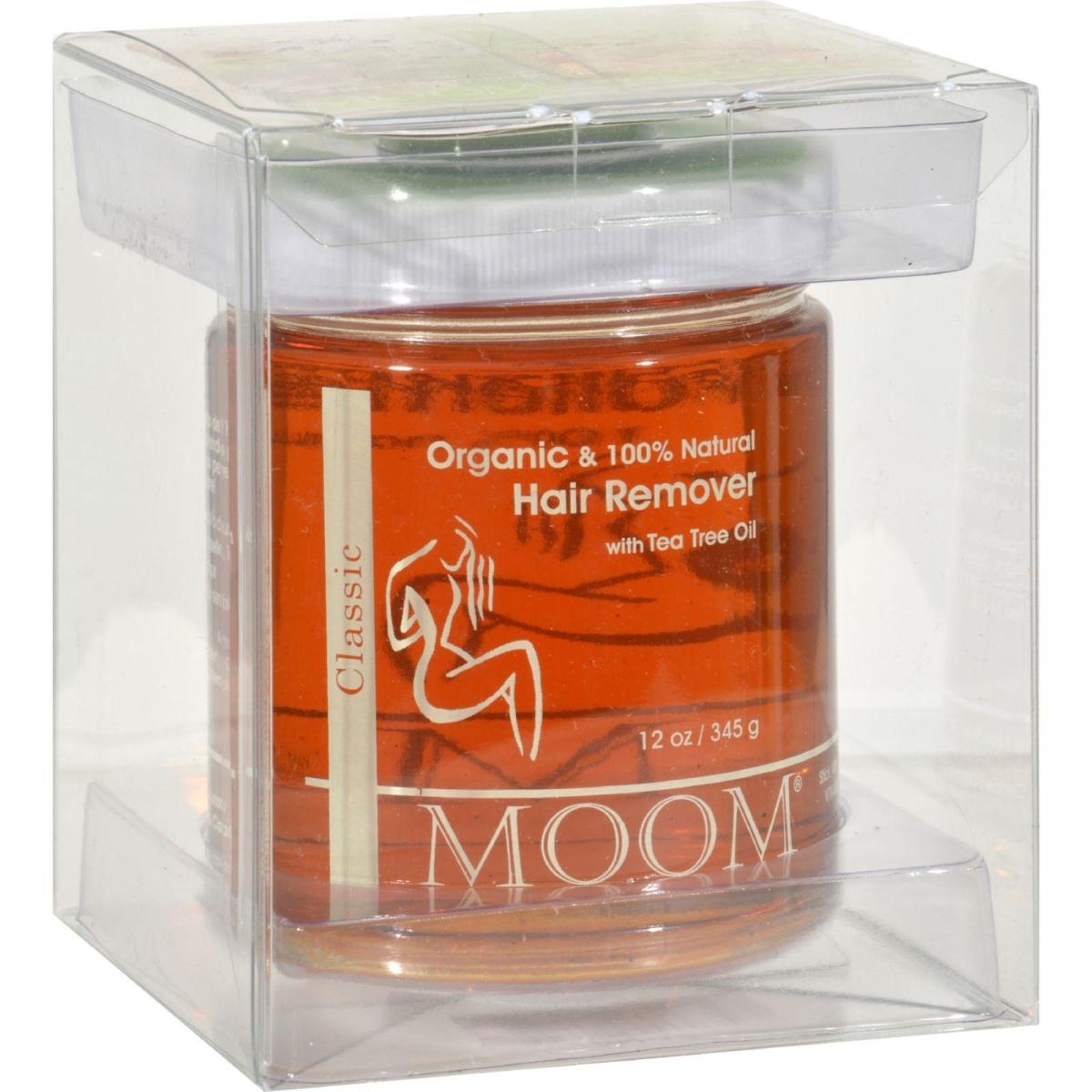 Moom HG0166892 12 oz Organic Hair Removal with Tea Tree Refill Jar
