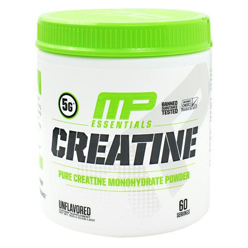 Muscle Pharm 4820235 300 g Essentials Creatine Unflavored - 60 Servings