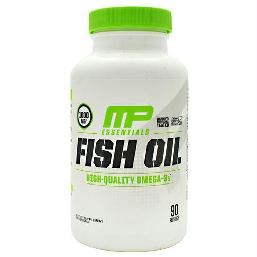 Muscle Pharm 4820238 Essentials Fish Oil 90 Softgels