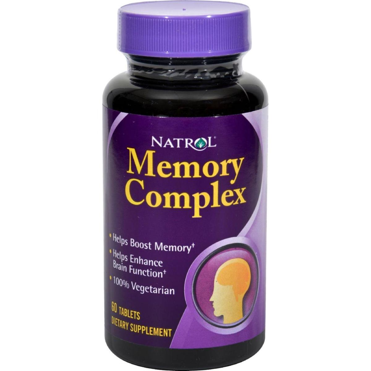 Natrol HG0129114 Memory Complex 60 Tablets