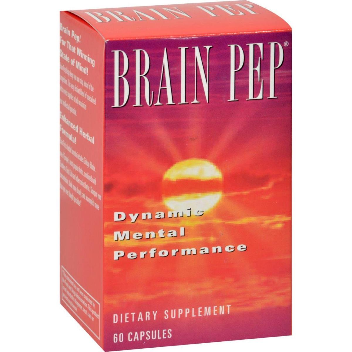 Natural Balance HG0689463 Brain Pep - 60 Capsules