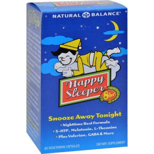 Natural Balance HG0928317 Happy Sleeper Capsules - 60 Vegetarian Capsules