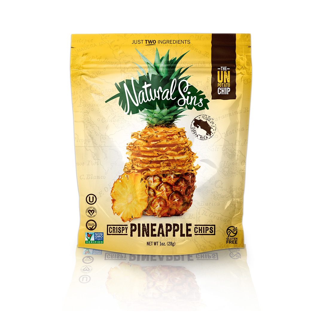 Natural Sins 1793157 1 oz Crispy Mango Chips - Pack of 6
